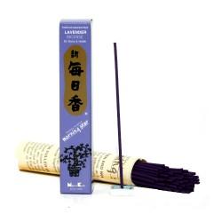 kadzidełka japońskie - uspakajający zapach lawendy