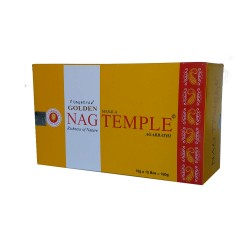 Kadzidło szczęścia Golden Nag Temple 15 g