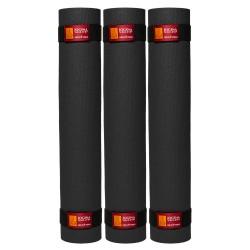 Trzy maty surja 4,5 mm czarne
