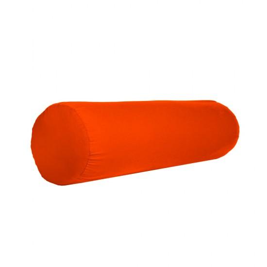 Bolster relaksacyjny pomarańczowy