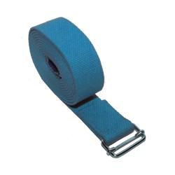 Używany pas jogina - jasnoniebieski