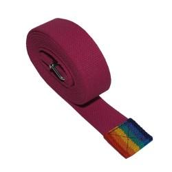 Używany pas jogina - różowy