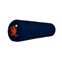 Bolster z haftem Ganapati OM granatowy
