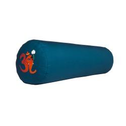 Bolster z haftem Ganapati OM jasnoniebieski