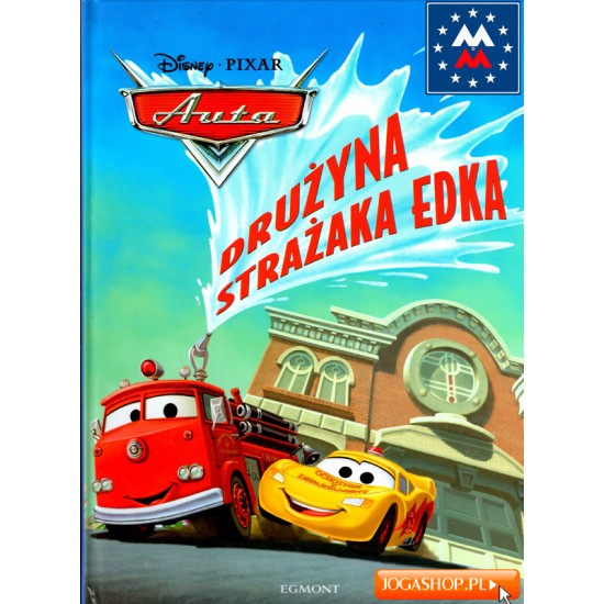 Disney Pixar Auta. Drużyna strażaka Edka
