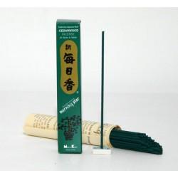 kadzidełka japońskie - naturalny zapach cedru