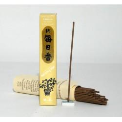 kadzidełka japońskie - naturalny zapach wanilii