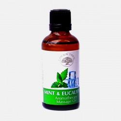 Olejek do masażu Mint & Eucalyptus Green Tree 50 ml