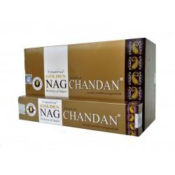 Kadzidło szczęścia - Golden Nag Chandan 15g