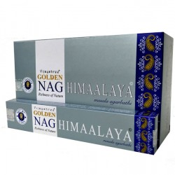 Kadzidło szczęścia - Golden Nag Himalaya 15g