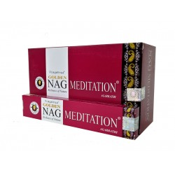 Kadzidło szczęścia - Golden Nag Meditation 15g