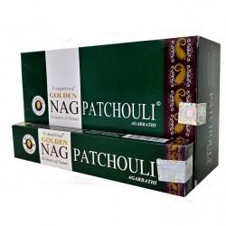 Kadzidło szczęścia - Golden Nag Patchouli 15g