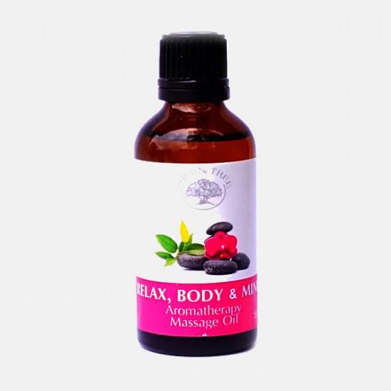 Olejek do masażu dla relaksu ciało i umysłu Green Tree 50 ml