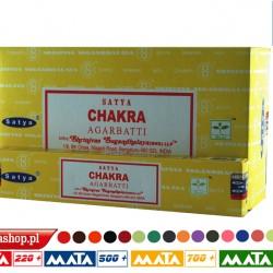 Kadzidła Nag Champa CHAKRA 15g