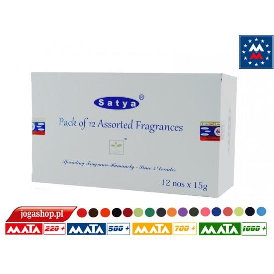 Satya Assorted 12x15 grams - Box