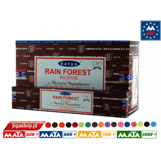 Satya Oriental Series RainForest 15 grams