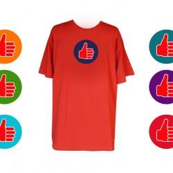 Kobiece Fantazje Hot Like T-Shirt z Haftem