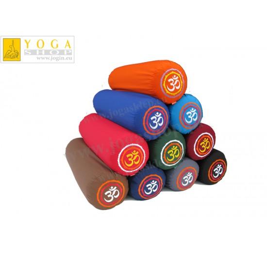 Wałki do jogi - standardowy bolster z haftem OM